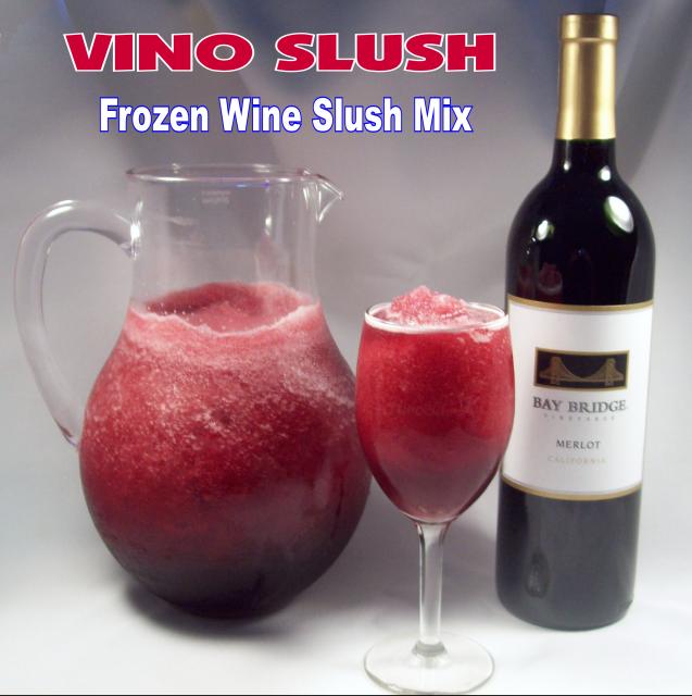 Vino Slush frozen wine slush mix - use with any wine! Just mix it ...